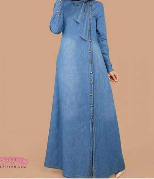 مدلهای مانتو جین دخترانه بلند