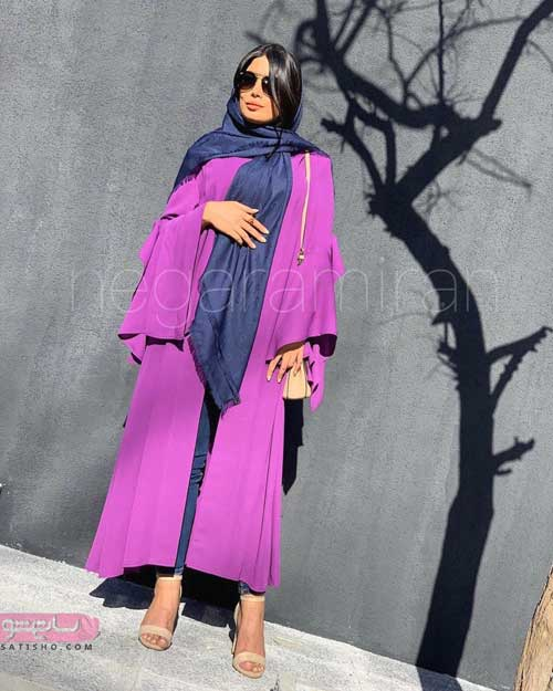 مدل مانتو عید نوروز 98 دخترانه با رنگ بندی های شیک