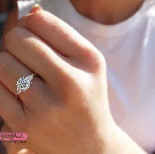مدل حلقه ازدواج شیک 2019 دخترانه زیبا