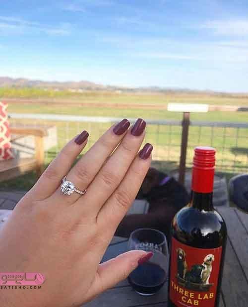 مدل حلقه ازدواج زنانه 2019