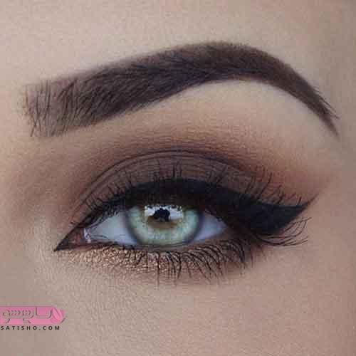 مدل های زیبای آرایش چشم ملایم