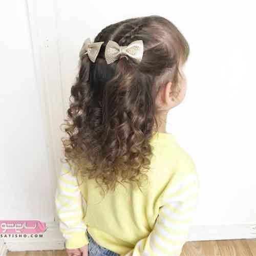 مدل بافت مو کوتاه دخترانه