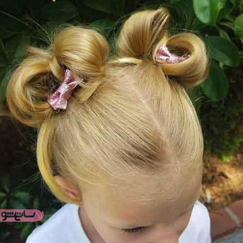مدل بافت موی بچه گانه دختر