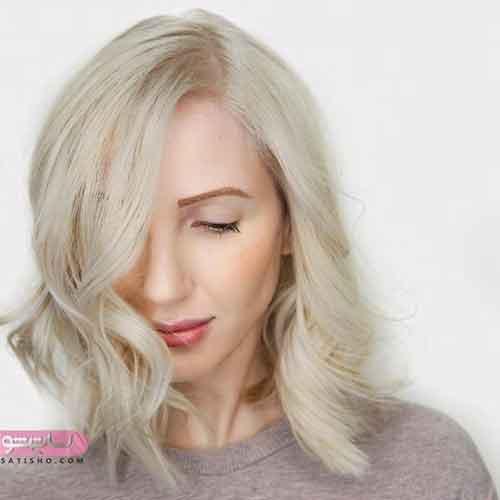 رنگ مو هایلایت کاراملی