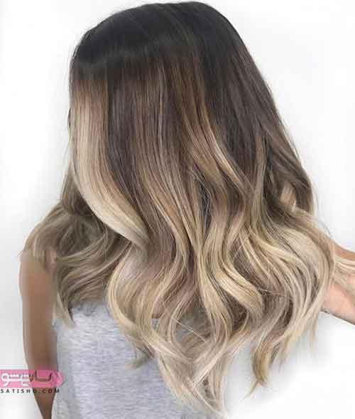 مدل رنگ مو جدیدترین
