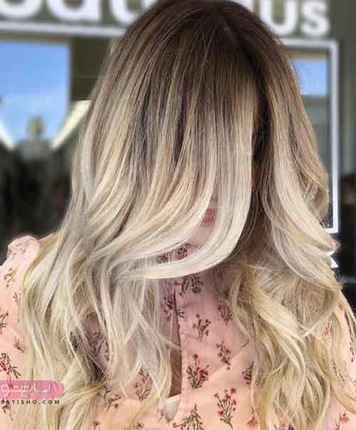 رنگ مو هایلایت ۹۸