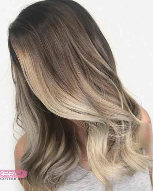 جدیدترین مدل رنگ موی
