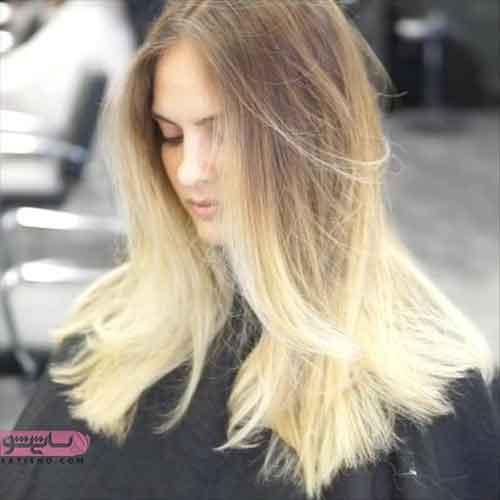 رنگ مو هایلایت کنفی