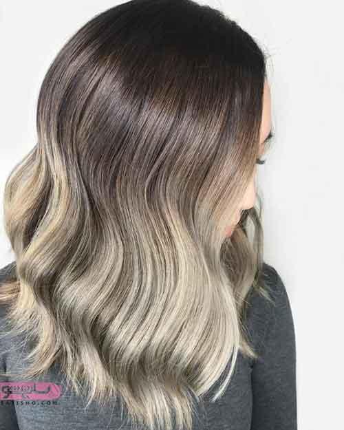گالری از مدل رنگ مو جدید