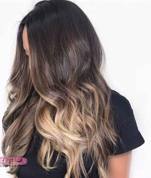مدل رنگ مو جدید عروس جدید ۲۰۱۹
