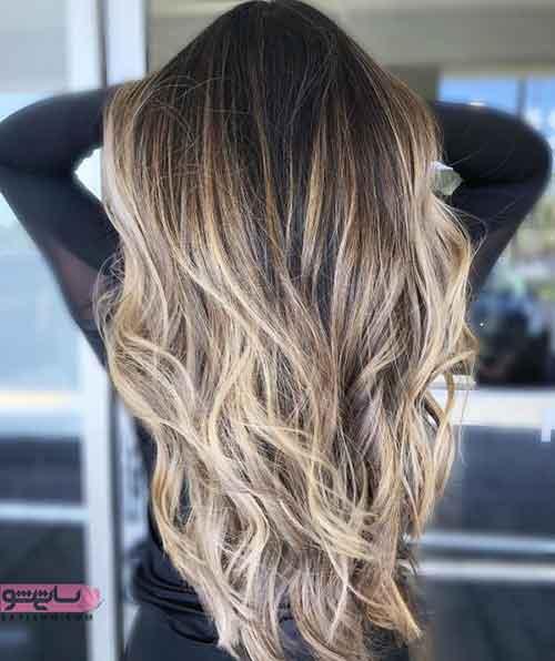 جدیدترین مدل رنگ موی عروس