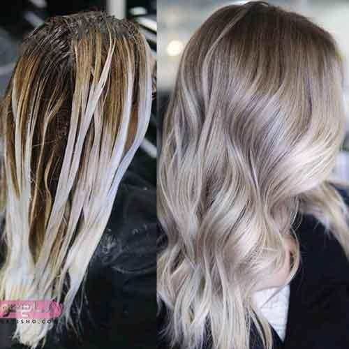 رنگ موی جدید عروس