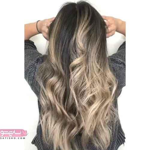 مدل رنگ مو مش