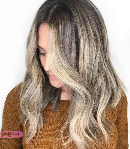 مدل رنگ مو بدون دکلره