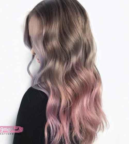 مدل رنگ مو روشن