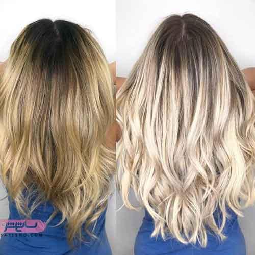 رنگ موی جدید برای عروس