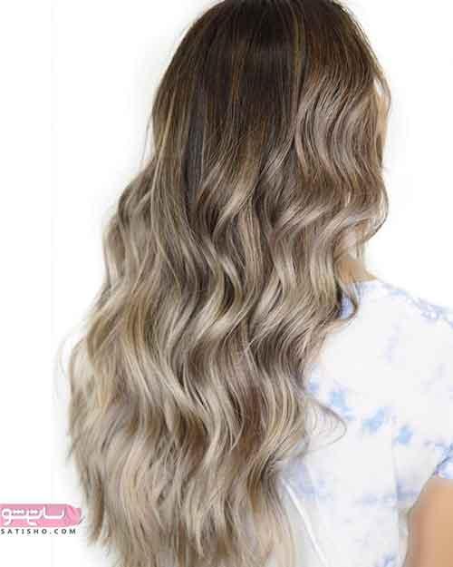 مدل رنگ مو دخترانه