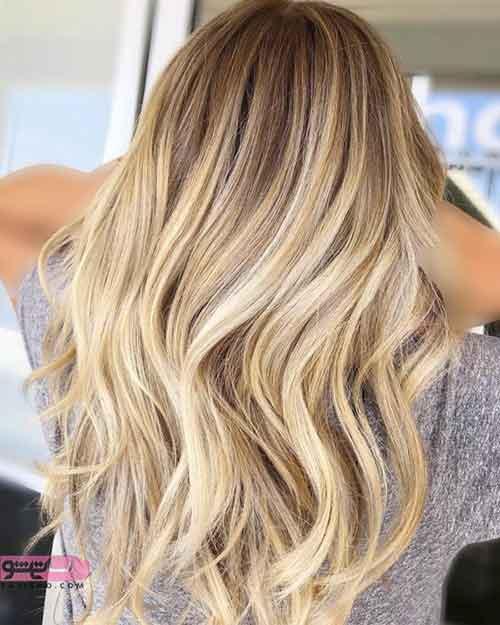 جدیدترین مدل رنگ موی امسال