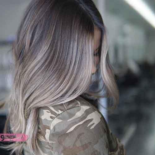 رنگ موی جدید روشن