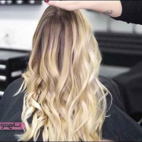 رنگ موی جدید برای موهای بلند