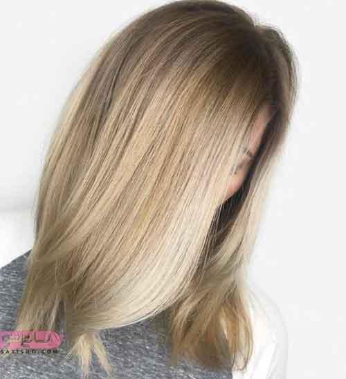 مدل رنگ مو دودی زیتونی
