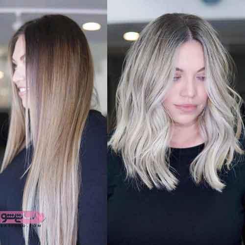 جدیدترین مدل رنگ موی سال ۹۸