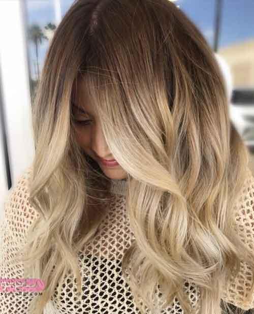 جدیدترین مدل رنگ موی فانتزی