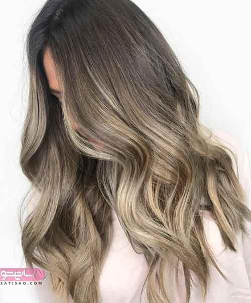 مدل رنگ مو در اینستاگرام
