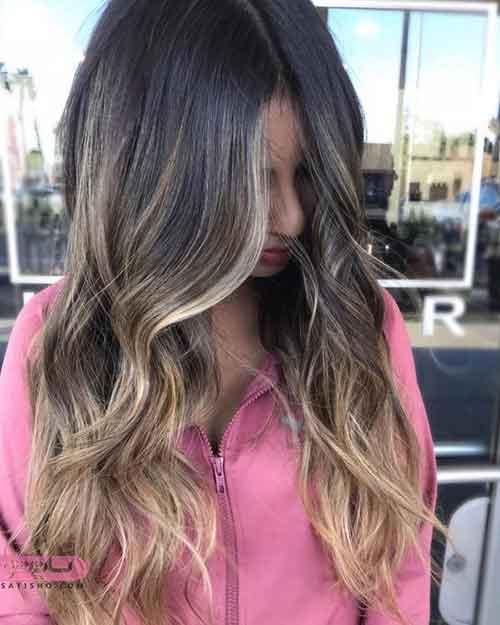 مدل رنگ مو جدید 2019