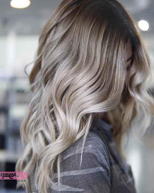 جدیدترین مدل رنگ موی سال