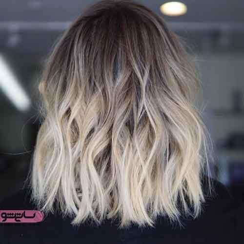 جدیدترین مدل رنگ مو فانتزی
