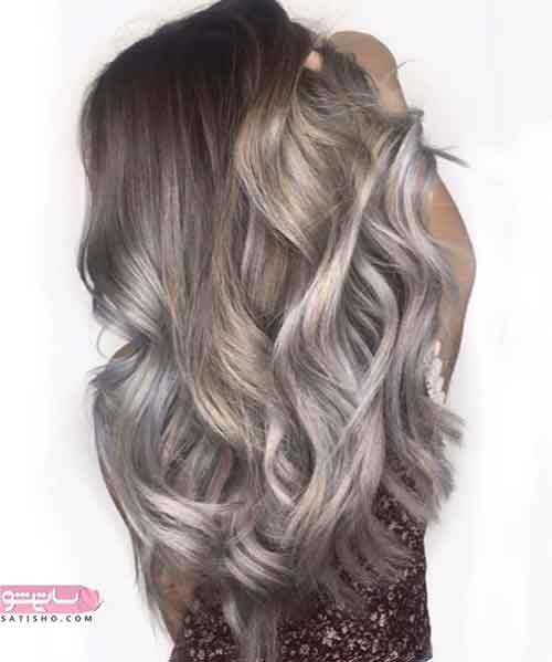 مدل رنگ مو جدید در اینستا