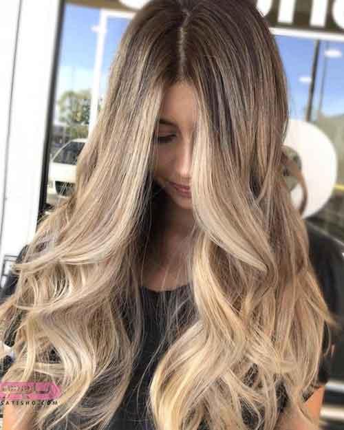 مدل رنگ مو جدید عروس