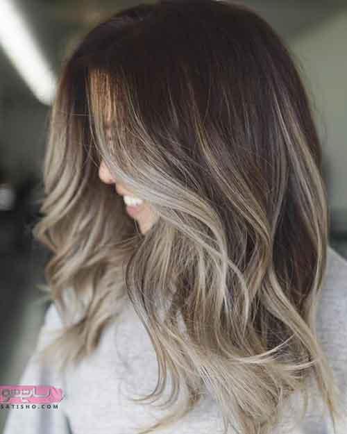 جدیدترین مدل رنگ مو و مش
