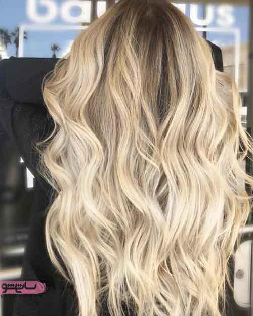 مدل رنگ مو جدید و شیک