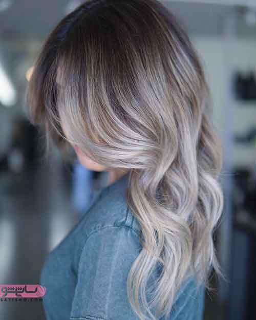 جدیدترین مدل رنگ موی هایلایت