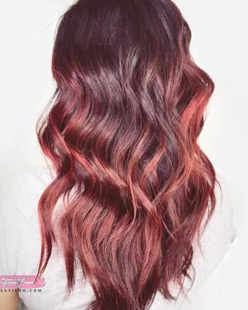 جدیدترین مدل رنگ مو هایلایت
