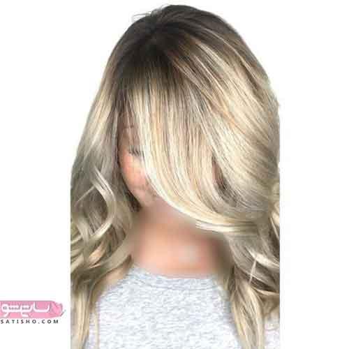 جدیدترین مدل رنگ مو آمبره