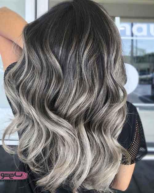 مدل رنگ مو جدید دخترانه