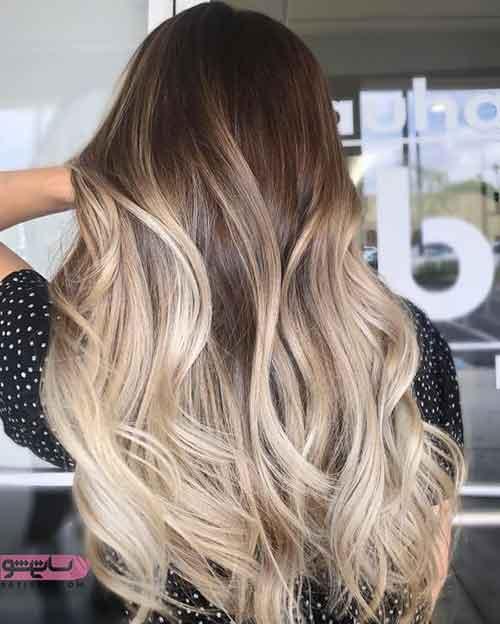 مدل رنگ مو جدید اینستاگرام