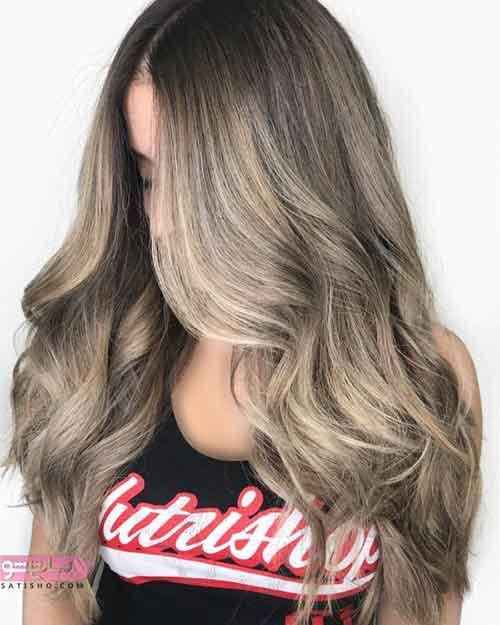 جدیدترین مدل رنگ موی فانتزی دخترانه