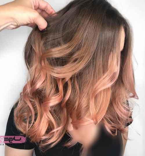 مدل رنگ مو جدید ۹۸