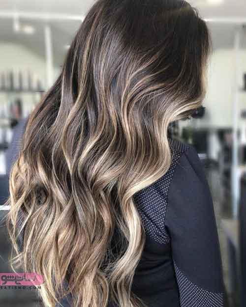 جدیدترین رنگ موی سال 2019