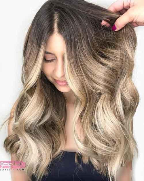 مدل رنگ مو جدید ترکیبی