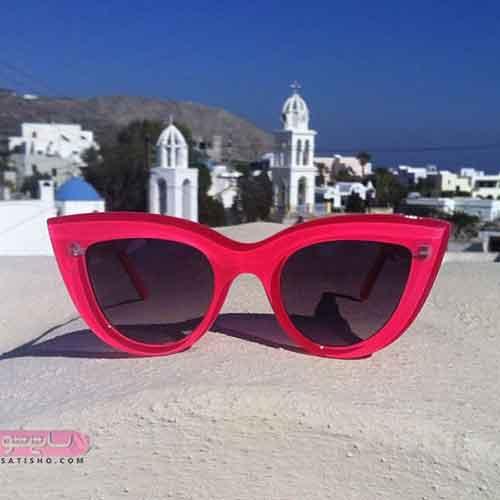 مدل عینک آفتابی زنانه گربه ای
