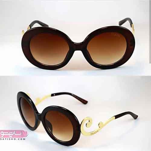 عینک آفتابی دخترانه برای صورت گرد