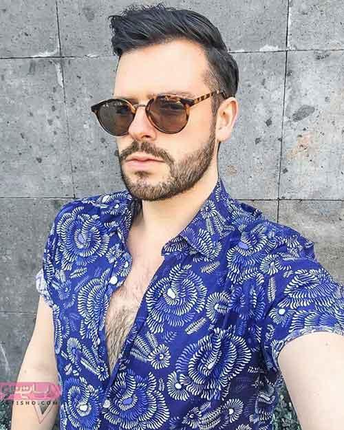 عینک آفتابی مردانه زیبا و شیک