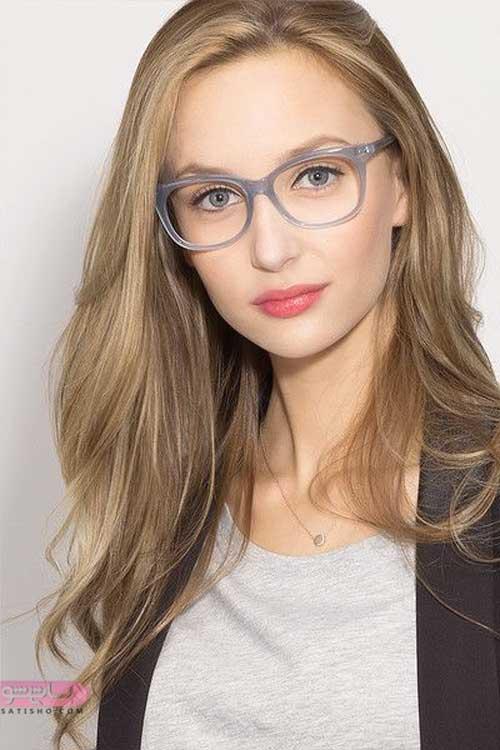 عکس عینک طبی دخترانه جدید