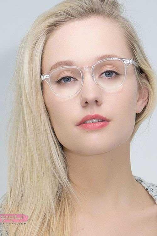 جدیدترین مدل های عینک طبی دخترانه لاکچری