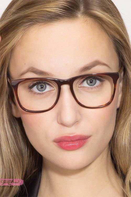 قیمت انواع عینک طبی دخترانه